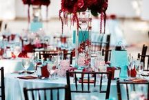 Burgundy and Blue Wedding Ideas