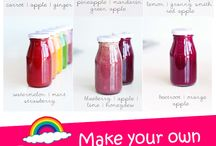 Healthy Juices, Smoothies/Shakes, & Infused Water Recipes / by Livia Ly, MS, RD, LDN