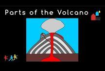 Montessori Volcano Lesson