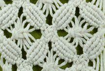 Knots and technics / macrame knots and patterns