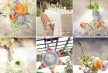 Wedding deko / Weniger ist mehr