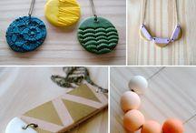 Polymer clay jewelry ideas