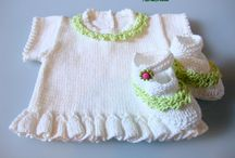 Baby Cotton Top and Shoes
