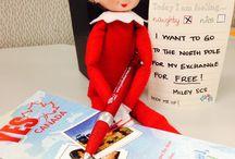 Elf on a Shelf at Muskoka Language International / Elf on a Shelf has come to work at Muskoka Language International for the month of December.
