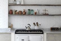 Kitchen / Everything kitchen - bowls and cups and dishes and tea towels and salt&pepper shakers and corkscrews and furniture and...