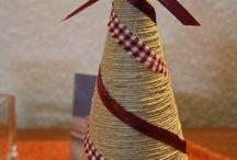 vianoce-stromčeky, vence