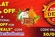 20 % OFF Promocode - HAPPYDEALS / Buy Crackers from sivakasi fireworks. Visit:www.crackersindia.com
