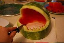 Fruit en groenten kunst