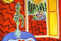 Henri Matisse Interiors