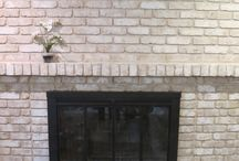 Fireplaces / Painting and wood