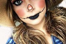 Bodypaint scarecrow