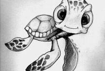 Baby állatok, cuki rajzok