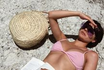 Sun of a beach.