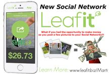 Leafit app opportunity / The Leafit it app will be available for download soon. In the meantime the opportunity to join Leafit for free can be accessed in an online tour here. http://daveglow.igrowtour.com/