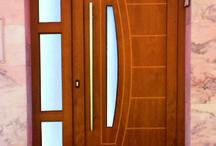 Puertas Modernas + LIDO / Paneles de puerta exterior en aluminio o pvc