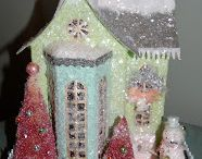 Blue Glitter House Inspiration
