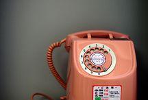 T E L E P H O N E S. / A collection of interesting telephones.