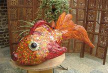 fish mosaics