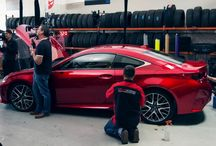Lexus RC Real-Time Build–Time-Lapse
