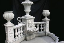 garden ornaments: stone fountains / Execution of stone fountains of any sort, carved shells or plain bowls, wall fountains with masks or rosette spills,  tiers fountain, french style, water basin of any shape and profile.