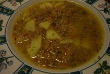 Sopas italianas / Variedad de sopas italianas preparadas con los  ingredientes de la mejor calidad.