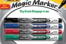 BIC Magic Marker Dry Erase Marker / Low Odor & Bold Writing! / by BIC Mark-It