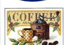 kávé, tea, sütemény