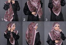 Hijab tutorials & hijab outfit  / by Hasna Maach