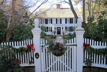 And a white picket fence . . . / by Rebecca Frost Glenn