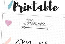planner - memories