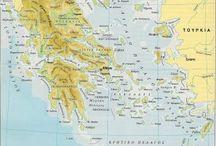 Χάρτες για την ελληνική επανάσταση / Οι χάρτες αποτυπώνουν την κατάσταση που επικρατούσε. Ποιες ήταν οι περιοχές που εδραιώθηκε η επανάσταση , πως η Ευρώπη έδρασε σε αυτήν.