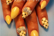 stilletto nail designs
