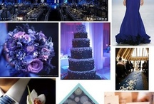 сине-серебряная свадьба