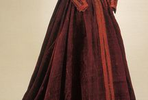 Old fashion before 1700 / Dresses from before 1700