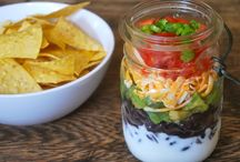 food in a jars