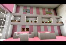 Minecraft girls room
