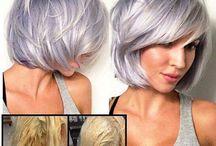 Levandulové vlasy