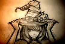 Witches / Witch art, clipart, images, etc. / by K. Latham