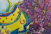 GillsArtSpot / A selection of my art and that of my creative workshops based in New Zealand.