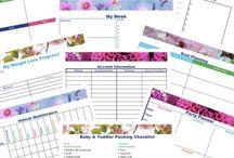 Calendars, organisers