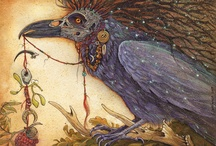 """Autumn Crow: """"A Dreaming"""" / Inspiration Board"""