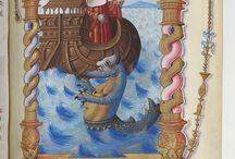 Illuminations / Visual research of illuminated manuscripts.