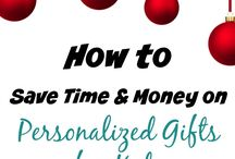 Save time on Personalized gifts