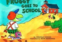 Books {Back to School} / Books for kindergarten and first grade for the beginning of the school year.