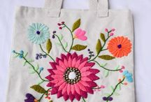 bolsos bordados