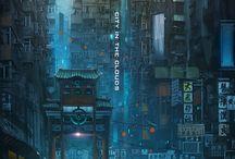 Environment: cyberpunk