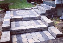 Entrance ways by Ryan's Landscaping / Ryan's Landscaping can create beautiful and functional walkways that are sure to impress your guests and add value to your home.