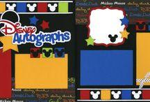 Scrapbook-Disney Ideas