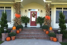 Fall Front Porch Decor / by Heather Rasmus