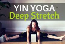 Yin / restorative class inspo